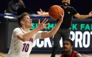 31 tašką pelnęs Tubelis sužaidė geriausias rungtynes NCAA (komentaras)