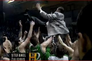 """Lygiai prieš 20 metų - """"Žalgirio"""" triumfas Europos taurių laimėtojų turnyre"""