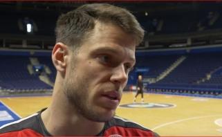 Ch.Krameris: esame puiki komanda, kuri vis gerina savo žaidimą (video)