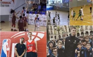 Tokio milžino dar nebuvo: įspūdingo ūgio 13-metis kanadietis glumina krepšinio bendruomenę