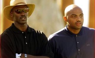Ch.Barkley - M.Jordanui: linkiu tau visko geriausio, bet nieko negaliu padaryti, broli!
