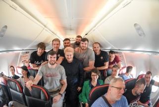 """Prezidentė netikėtai lėktuve aplankė """"Lietkabelio"""" krepšininkus"""