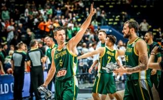 Po dviejų pratęsimų olandus palaužę lietuviai - Pasaulio čempionate!