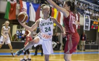 Lietuvės pripažino Belgijos krepšininkių pranašumą