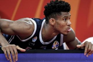 G.Antetokounmpo: žaisdamas pagal FIBA taisykles buvau it kalinys