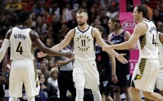 """Galingas D.Sabonio žaidimas leido """"Pacers"""" vėl laimėti išvykoje"""