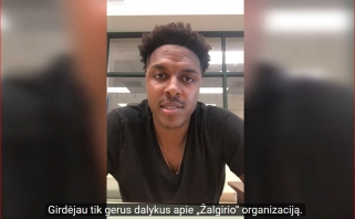 """""""Žalgiris"""" pasirašė kontraktą su Eurolygoje užsirekomendavusiu Z.LeDay'umi"""