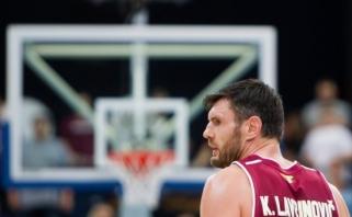 Europos taurė: trys lietuviams skausmingi epizodai, K.Lavrinovičius - tarp naudingiausių