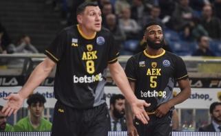 Oficialu: AEK kapitonas J.Mačiulis lieka Graikijos klube