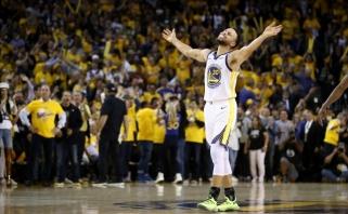 S.Curry pareiškė, kad prieš bet kurį varžovą gali įmesti 60 taškų