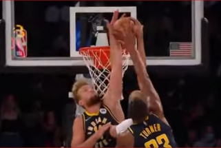 """Sabonio blokas, """"Bulls"""" ataka """"žemė - oras"""" ir Moranto skrydis – NBA Top 10 viršūnėje"""