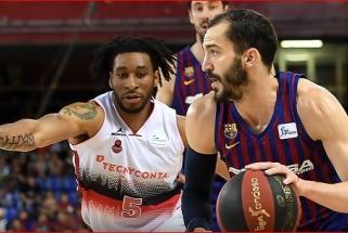 R.Seibučio komanda patyrė pažeminimą Barselonoje