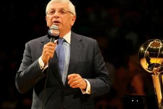 Krepšinio imperatorius: NBA komisaras, užkūręs pelno ir populiarumo mašiną (straipsnis)