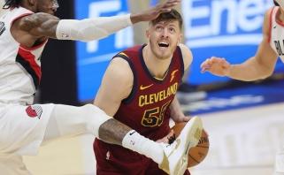 """Buvęs žalgirietis sukirto rankomis su """"Clippers"""""""