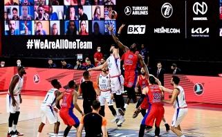 """""""Anadolu Efes"""" krepšininkai: būtų didelė klaida galvoti, kad mes nusipelnėme titulo"""