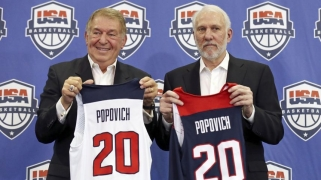 JAV rinktinės vadovo pasiteisinimai: jei ne traumos, būtume laimėję pasaulio čempionatą