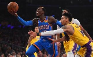 """NBA sezonas baigsis olimpiados išvakarėse, """"Lakers"""" susitarė dėl mainų"""
