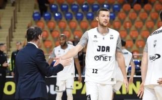 Rezultatyvus S.Kulvietis atakavo be klaidų, JDA - Prancūzijos lygos taurės pusfinalyje