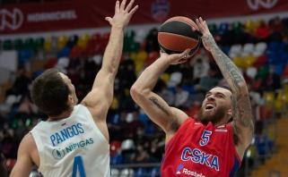 """Blankus Gudaitis išsiskyrė nesportine pražanga, """"Zenit"""" nepasipriešino CSKA"""