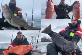Valančiūno atostogos: vėsi Norvegijos šiaurė, žvejyba ir įspūdingi Jono laimikiai