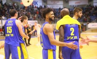 "Prieš dvikovą Kaune ""Maccabi"" septyniese laimėjo Izraelyje"