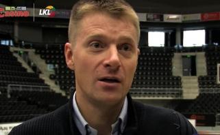 """Naujasis """"Šiaulių"""" vadovas M.Žukauskas: """"Reikia kilti į viršų"""" (video interviu)"""