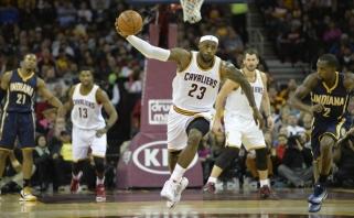 """NBA: """"Cavaliers"""" pirmą kartą sezone įveikė """"Bulls"""", """"Spurs"""" krito Los Andžele"""