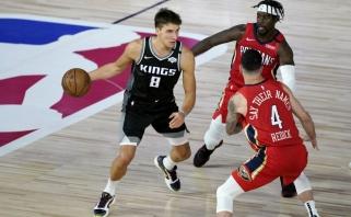 NBA lygoje – rekordinis B.Bogdanovičiaus pasirodymas