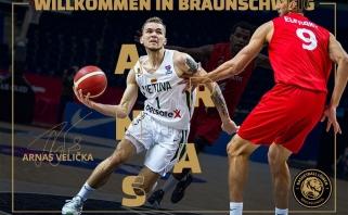Velička debiutavo Vokietijos čempionate