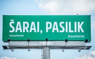 """Šarą likti """"Žalgiryje"""" originaliai ragina Kaunas, sukurtas ir Gidranity klipas"""
