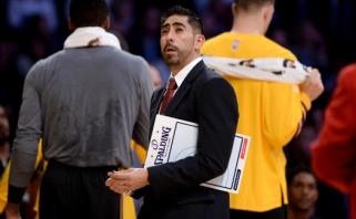 """""""Lakers"""" rado atpirkimo ožį - atleido fizinio parengimo trenerį"""