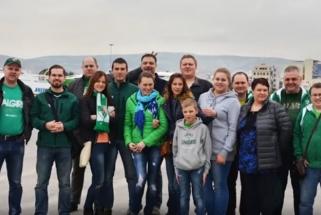 """Meilė krepšiniui Kaunų šeimą atvedė į """"Žalgirio"""" Garbės Klubą (VIDEO)"""