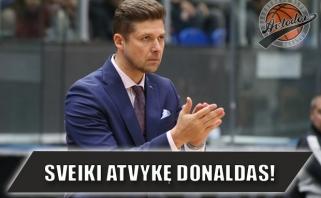 """Oficialu: Donaldas Kairys tapo """"Avtodor"""" vyriausiuoju treneriu"""