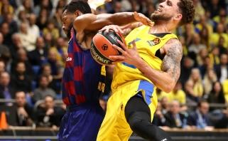 """""""Barcelona"""" neįveikė """"Maccabi"""" tvirtovės ir patyrė trečią nesėkmę iš eilės"""