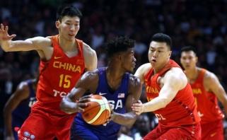 JAV žvaigždynas sumindė ir Kinijos rinktinę