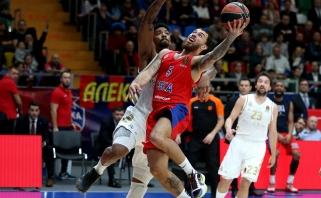 Eurolygos grandų dvikovoje - retas nerezultatyvumas ir CSKA pergalė