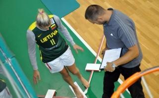 LMKL krepšininkių testavimas ne tik padeda išvengti traumų, bet ir atskleidžia įdomias tendencijas