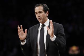 """""""Heat"""" susitarė dėl naujo ilgalaikio kontrakto su vyriiausiuoju treneriu"""