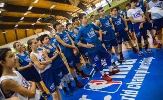 Jr.NBA Pasaulio čempionate dalyvaus trys lietuviai