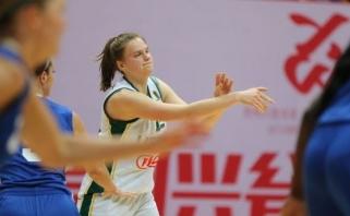 Lietuvės turnyre Kinijoje įveikė šeimininkes