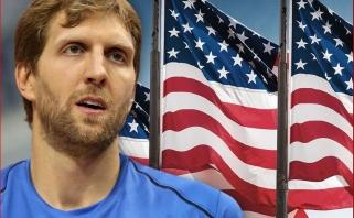 Garsiausias visų laikų Vokietijos  krepšininkas D.Nowitzki sieks JAV pilietybės