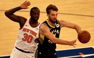 """Universalus Sabonio žaidimas nepadėjo: """"Pacers"""" tęsia pralaimėjimų ruožą"""