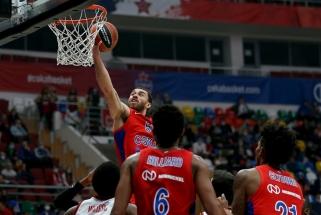 """Pergalių seriją pratęsęs CSKA neturėjo problemų su """"Olympiacos"""""""