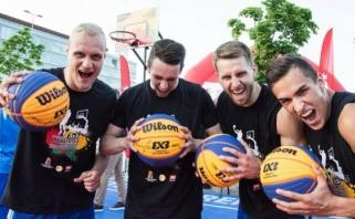 Lietuvos vyrų 3×3 rinktinei liko žingsnis iki Europos čempionato finalinio etapo