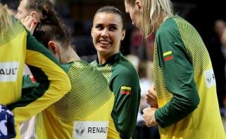 Lietuvės sukūrė stebuklą Europos čempionate ir patiesė Rusijos rinktinę