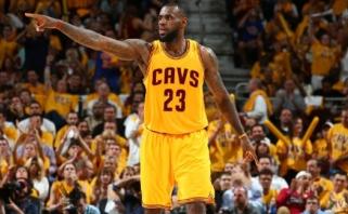 """""""Cavaliers"""" lengvai pateko į NBA Rytų konferencijos finalą"""
