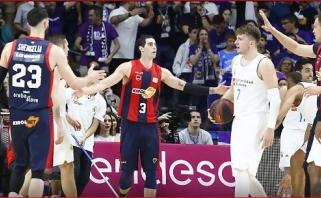 Eurolygos čempionai finalo seriją Ispanijoje pradėjo nesėkme namie