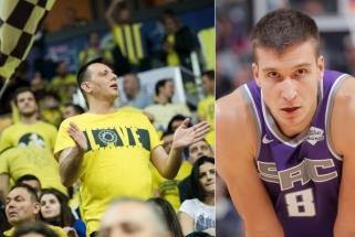 """""""Fenerbahče"""" gerbėjus po pralaimėjimo """"Žalgiriui"""" guodė ir ramino B.Bogdanovičius."""