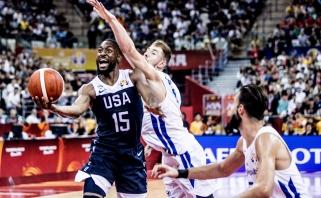 JAV rinktinės įžaidėjas K.Walkeris: čempionate daugiau jėgos nei NBA