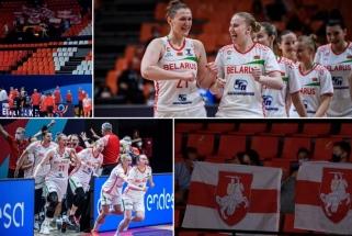 Baltarusiški stebuklai Europos čempionate: rokenrolas aikštėje, erzelis aplinkui